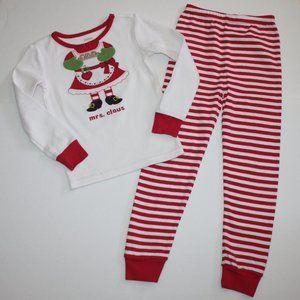 Gymboree Sweet Panda Sleepwear Mrs. Claus Pajamas